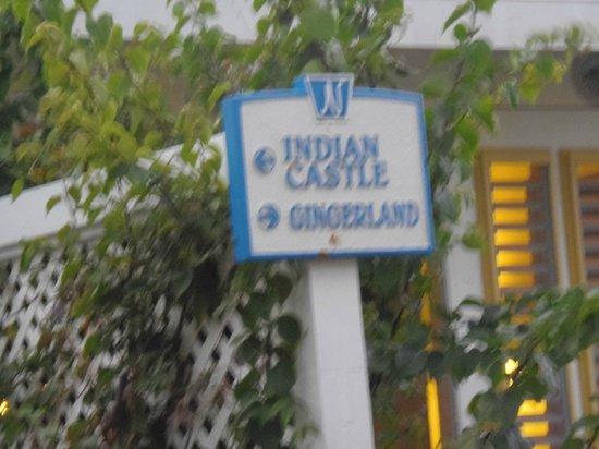 Nisbet Plantation Beach Club: Our sign!