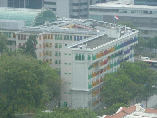Novotel Singapore Clarke Quay: Vue de la chambre