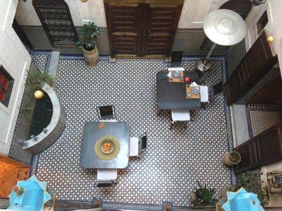 Riad Boujloud: veduta dalla nostra suite
