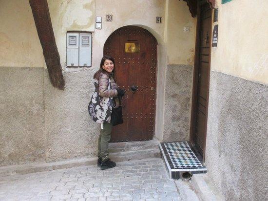Riad Boujloud: Porta d'entrata