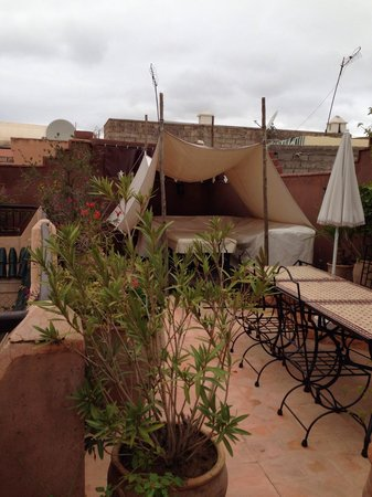 Riad Massiba : La terrasse