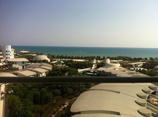 Cornelia Diamond Golf Resort & Spa: View from our room