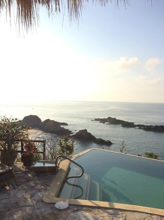 Casa Pan de Miel: the view from the pool