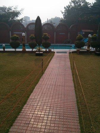 Hotel Amar: garden