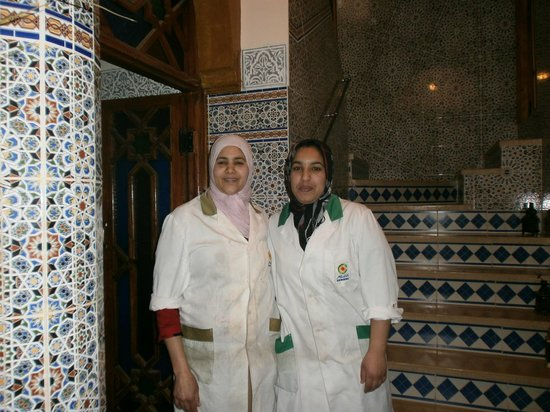 Riad Mahjouba : The nice ladies who cooked food and cleaned the rooms