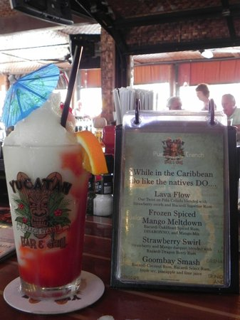 Yucatan Beach Stand Bar : Delish drinks