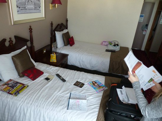 Ibis London Earls Court : Chambre 1222 spacieuse