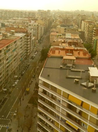 Melia Barcelona Sarria : Vistas desde la habitación