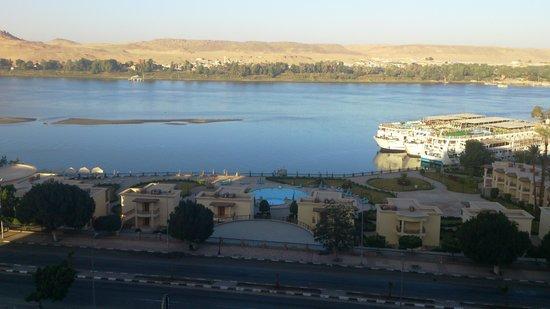 Helnan Aswan Hotel : view from my window