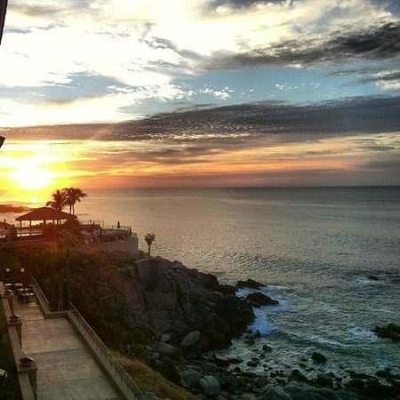 Welk Resorts Sirena Del Mar: Sunset views from our room. Always stunning.