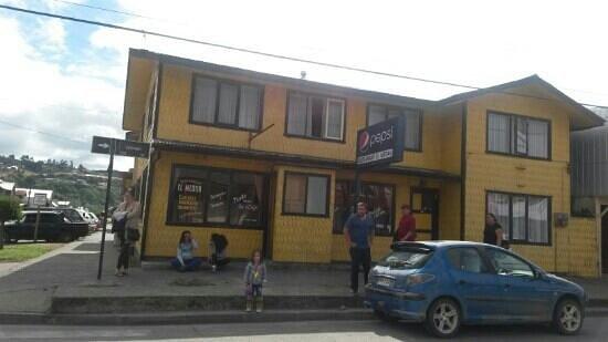 Achao, Chile: Restaurant El Medan