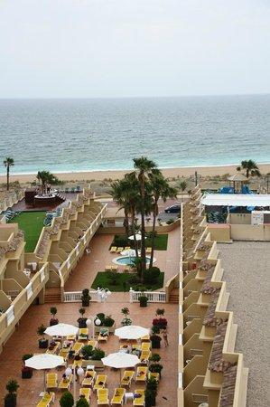 Hotel RH Casablanca & Suites: Вид из номера в главном корпусе