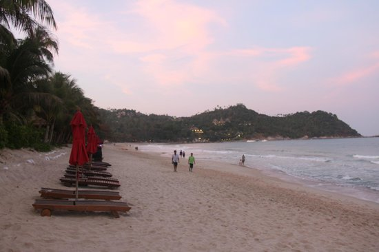 Buri Rasa Koh Phangan: beach view