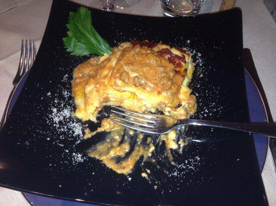 Hotel Caminetto: lasagne