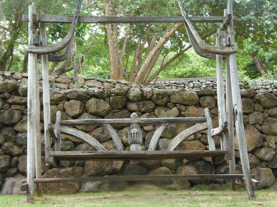 Botanical Gardens of Nevis: Bench