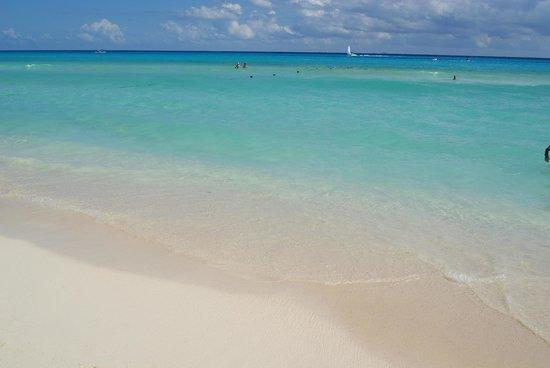 Hotel Riu Playacar : Gorgeous beach!