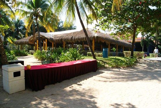 Hotel Riu Playacar : Dining hall for lunch