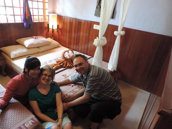 Golden Temple Villa: Our lovely room