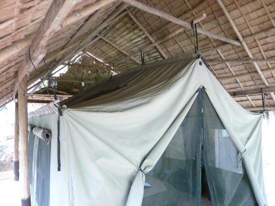 Kamu Lodge : chambre tente