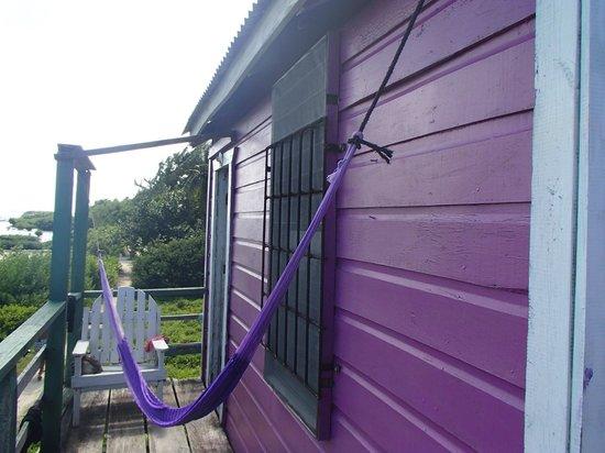 Ignacio's Cabins: Terrasse