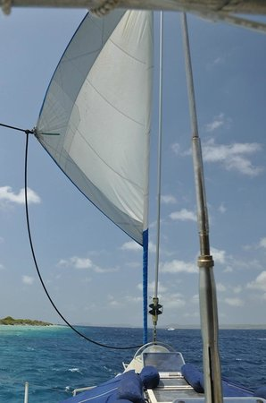 Aquaspace Sailing Charters: Under sail