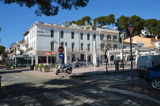 Hotel Llafranch: Fachada hotel