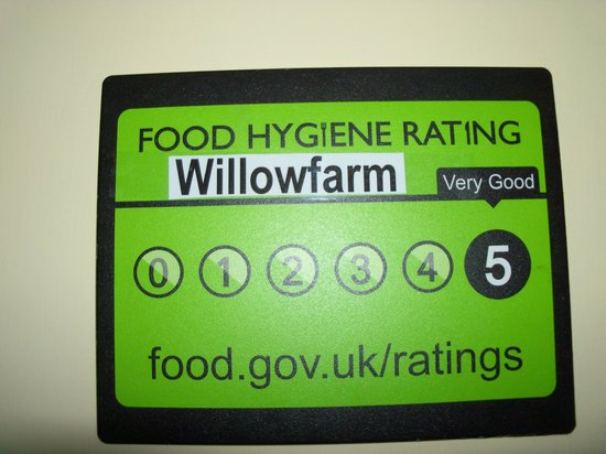 Willow Farm Bed and Breakfast: Food Hygiene Rating