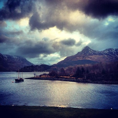 Isles of Glencoe Hotel & Leisure Centre: Gorgeous view from room