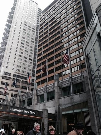 Sheraton New York Times Square Hotel: front view of hotel