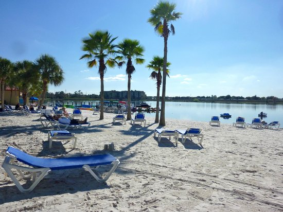 West Village Beach Picture Of Holiday Inn Club Vacations At Orange Lake Resort Kissimmee