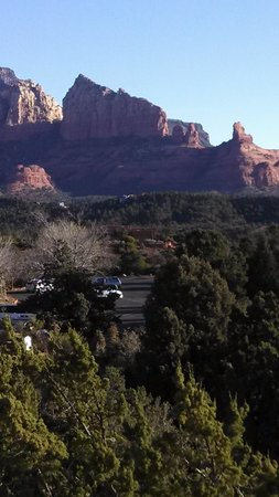 BEST WESTERN PLUS Inn of Sedona : View from the shared terrace