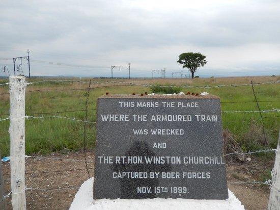 Battlefields Country Lodge: Early in the 2nd Boer War