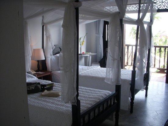 Hoi An Ancient House Resort & Spa : la chambre