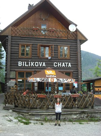 Mountain Hotel Bilikova chata: Carved into the side of the mountain!