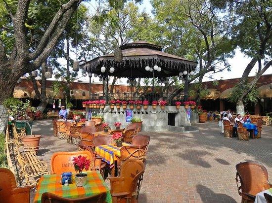 El Parian: Open air courtyard