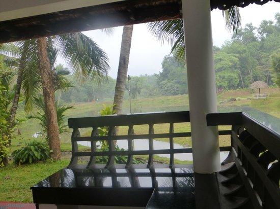 Tapovan Green County Resorts : On terrace/veranda
