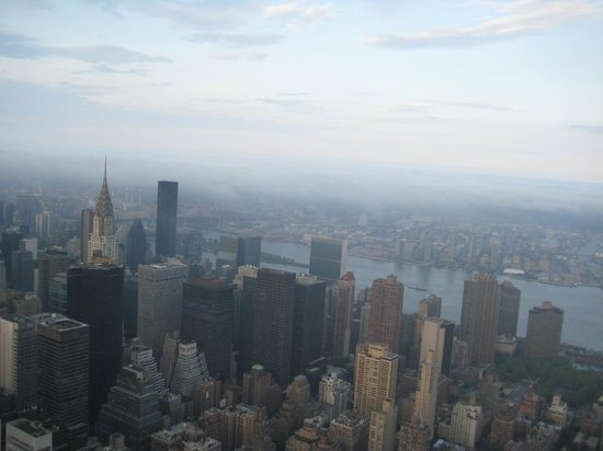 Empire State Building : on top of the city!