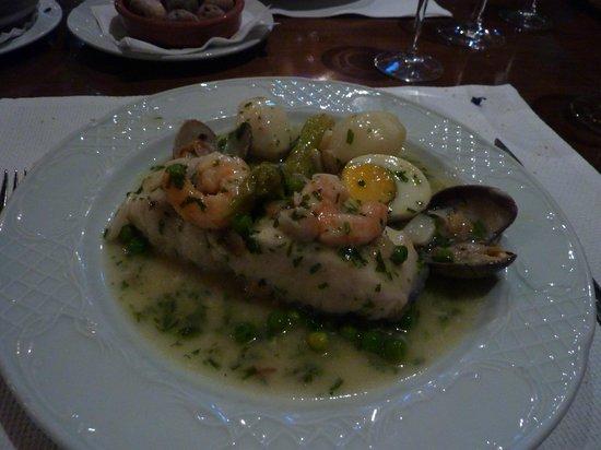 Meson Restaurante La Fresquera : kabeljauw op Baskische wijze