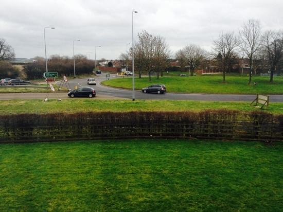 Premier Inn Stafford North (Hurricane) Hotel: The room was so good, the view really didn't matter!