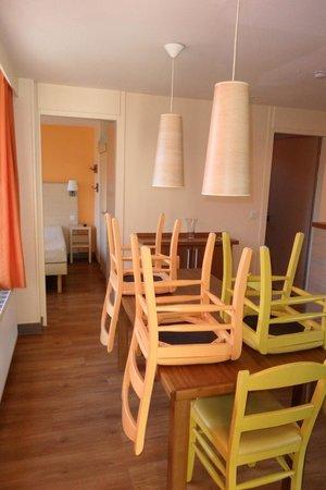 Center Parcs Les Bois-Francs : la salle a manger