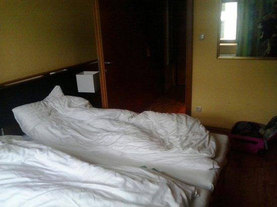 Central Hotel: camera spaziosa