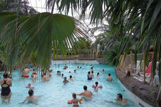 Center Parcs Les Bois-Francs : l'aquamondo, la piscine quoi !