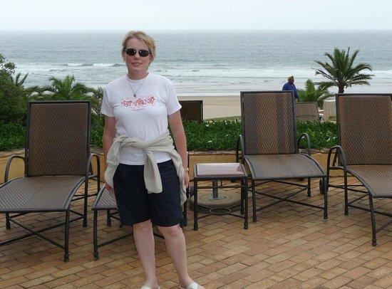 Wild Coast Sun Hotel: Sea view from hotel