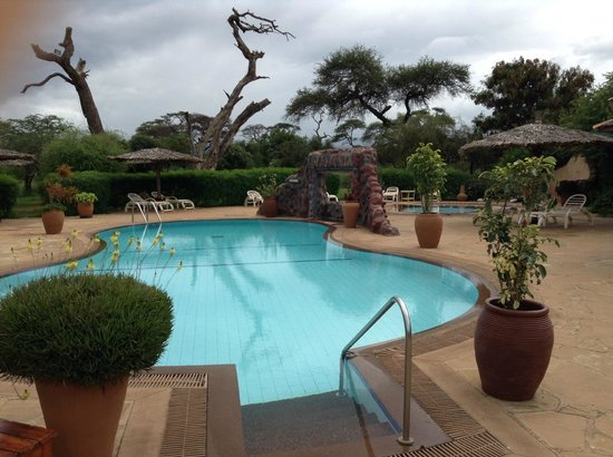 Sentrim Amboseli: The Pool!