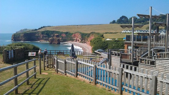 Ladram Bay Holiday Park: Kids play area