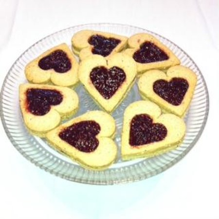 Mountain Girl Bakery: Linzer Hearts
