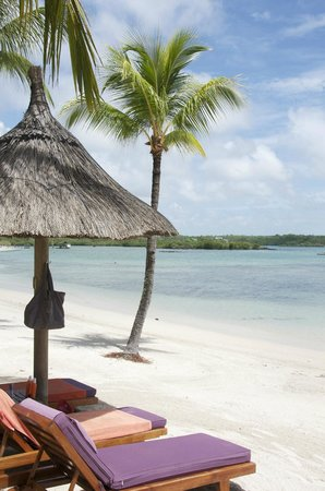 Constance Le Prince Maurice: La plage, les transats