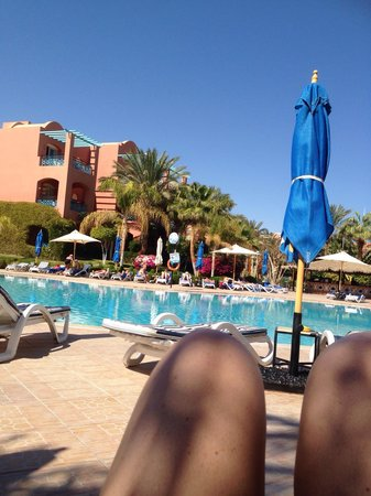 Club Magic Life Sharm el Sheikh Imperial: Life is tough - by the relax pool