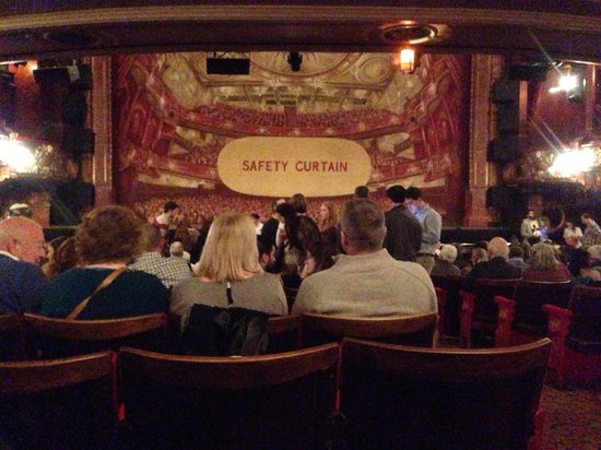 View From Our Seats Picture Of Victoria Palace Theatre