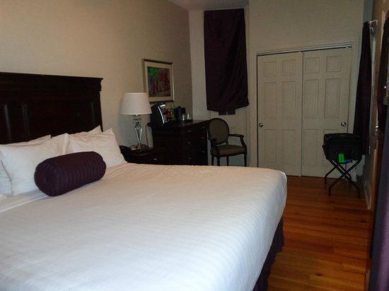 Lamothe House Hotel : Room